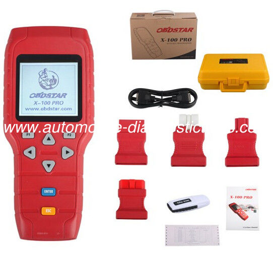Auto Key Programmer X-100 C+D Xtool Diagnostic Tool for IMMO+Odometer+OBD Software